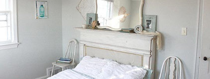 How To: Transform a Fireplace Mantel into a Headboard | Apartment Therapy