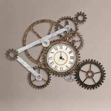 eclectic clocks by Cost Plus World Market