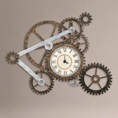 eclectic clocks by World Market
