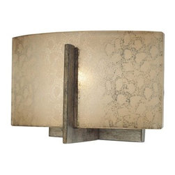 Minka Lavery - Minka Lavery 6391 1 Light Bathroom Sconce from the Clart� Collection - Single Light Bathroom Sconce from the Clart� CollectionFeatures: