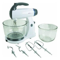 SUNBEAM RIVAL - 12spd White Classic St and Mixer - Features:
