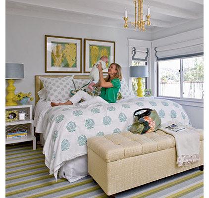 Accessorized Bedroom - 50 Comfy Cottage Rooms - Photos - CoastalLiving.com