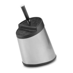 Kapoosh - Kapoosh Stainless Steel Knife Block - Chef's knives, santokus, paring knives or steak knives, the ultra versatile stainless steel Kapoosh knife block can hold them all!