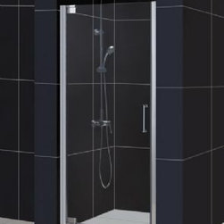 "DreamLine - DreamLine Shower Door with Handle (25-1/4"" - 27-1/4"" W) - SHDR-4125720-01"" - Shower Door with Handle (25-1/4"" - 27-1/4"" W)"