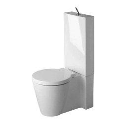 Duravit - Duravit - Toilet close-c. Starck 1, vario outl., closed - 02330900641 - washdown White W/Wondergliss