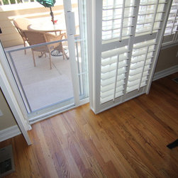 shutters for sliding door Highlands Ranch - Colorado Shade and Shutter