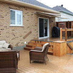 contemporary patio by Patio Deck-Art Designs