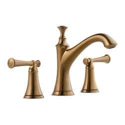 Brizo - Brizo 65305LF-BZLHP Baliza Brushed Bronze Two Handle Lavatory Faucet - The Brizo 65305LF-BZLHP is a two handle lavatory faucet  without handles from Brizo's Baliza design suite influenced by the beauty of lighthouses, bringing a traditional feel and a fresh perspective to any home, and it comes in a Brushed Bronze finish.