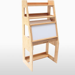 Children furniture - The Kids' Easel is made out of bamboo: this gives the desk a fresh airy look and will blend in well with any interior. As with all our bamboo products, this desk has been specially varnished to protect against water and to make cleaning easy.