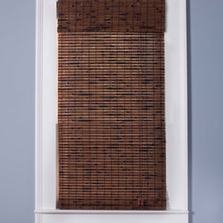 Arlo Blinds - Java Vintage 98-inch Length Bamboo Shade - Accent your home decor with a stunning bamboo Roman shade. Bamboo Roman shades are carefully woven to filter light. Each window treatment is made with real bamboo and other environmentally-friendly materials,also known as woven wood.