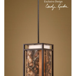 "21896 Quarry, 1 Lt Mini Pendant by uttermost - Get 10% discount on your first order. Coupon code: ""houzz"". Order today."