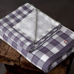 Bath - gingham check gauze towel set