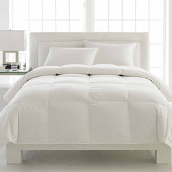 None - LC Classics 500 Thread Count European White Down Comforter - Wrap yourself in luxurious,soft comfort in every season with the LC Classics European White Down Comforter. It is filled with European white down featuring an Arctic Fresh guarantee that ensures the optimum lofting properties and eliminates odors.