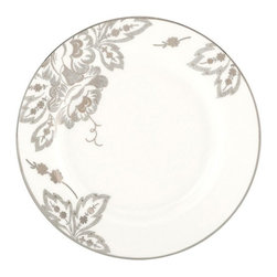 Lenox - Lenox Floral Waltz Butter Plate - Set of 2 Multicolor - LNOX1811 - Shop for Dishes and Plates from Hayneedle.com! Hundreds of platinum dots grace this butter plate like glistening dots of butter topping your favorite foods. Also sold as part of a 5-piece place setting.About Lenox CorporationLenox Corporation is an industry leader in premium tabletops giftware and collectibles. The company markets its products under the Lenox Dansk and Gorham brands propelled by a shared commitment to quality and design that makes the brands among the best known and respected in the industry. Collectively the three brands share 340 years of tabletop and giftware expertise.
