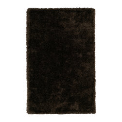 Kaleen - Kaleen Posh Collection PSH01-40 2' x 3' Chocolate - Posh is the perfect rug to make your feet say ooh and ahhh!! Super plush and silky to the touch, this hot new shag rug is exactly what your room has been asking for! Find the perfect spot to curl up on after a long day or bring in your favorite pop of color for a complete room makeover. The Posh collection allows for diversity and fashionable style for all of your decorating needs with over 20 colors to choose from. Each rug is handmade in China of the finest 100% polyester.