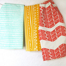 Modern Dish Towels by Leah Duncan