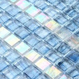 2013 New glass stone metal blend mosaic tile for kitchen backsplash IRG0044 - Collection: Crystal Glass tile