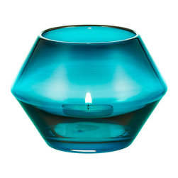 Niche Modern - Convex Votives- Sold Separately, Condesa - Strike a match and mark the moment with a Niche Modern handblown glass votive. In vibrant, luxurious new colors which are sure to bring a sense of ceremony and celebration to any table top.