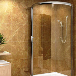 Aston Global - Aston Global SD908-III Round Shower - Clear, 5mm tempered safety glass