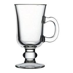 Hospitality Glass - 5.75H x 3T x 2 3/4B 8 oz Irish Coffee Cups 24 Ct - 8 oz Irish Coffee