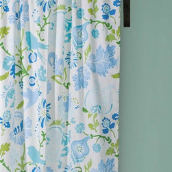 Home Decorators Collection - Nantucket Drapery Panel - Our Nantucket Drapery Panels will add playfullness and fun to any window. Woven of a 200 thread count cotton satin, these printed panels include lining and rod pockets. Machine washable; seperately. Coordinates with our Nantucket Bedding Set.