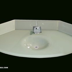Glass Integral Sinks