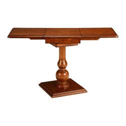 Bassett Mirror - Proximity Drop Leaf Table - Accent furniture. 44 in. W x 16 in. D x 24 in. H