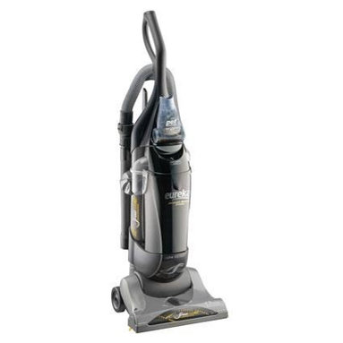 """Electrolux Home Care - Eureka AirSpeed Bagged Upright Vacuum, AS1051A - Eureka AirSpeed Bagged Upright AS1051A. Moves More Air. Removes More Dirt. Eureka Exclusive -AirSpeed Technology: Wide tubes that increase the amount of airflow for superior suction and cleaning. Quick """"Clean-Lock"""" Bag Change System: Easy-to-change bag system with high filteration bag conveniently keeps your home fresh and clean without the mess. 42 Feet of Cleaning Reach: Extend your reach with the 12 foot hose and 30 foot cord for quicker easier cleaning. Premium Bags: (1 Assembled and 1 Extra) Retain up to 100% of dust mite debris grass and ragweed pollens and household fibers. Hepa Filter: Captures 99.97% of dust and allergens. Stair and Upholstery Brush with Riser Visor: Removes dust allergens and pet dander from upholstery backs and stair risers. Bag Change indicator: Changes color when it's time to change your bag. 12 amps of Power: Maximum suction power for deep cleaning performance. 12 amp power. Odor absorbing Hepa filtration. 3.0 dry quarts bagged containment. 14"""" Clean."""