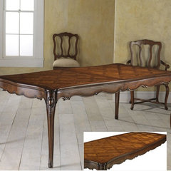 traditional dining tables by Pierre Deux -- CLOSED