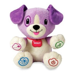 Leap Frog - LeapFrog My Pal Violet Personalized Plush Learning Toy - Early learning is even more fun when it's personalized to engage your little one.