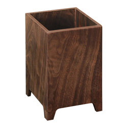 Tronk Design - Fitzgerald Planter , Walnut - The Fitzgerald is a stylish indoor wooden planter which will serve as an elegant accent to any room. The different varieties of wood provide a perfect base for any plant or arrangement. The Fitzgerald combines earthy with modern, making it a very special piece to own.