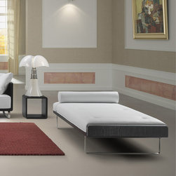 Kubo Daybed by Kubikoff - This sophisticated daybed is part of the acclaimed Kubo Collection with loose parts that offer a wonderful array of cushion fabrics and colors to mix with several wood frame finishes. The result? A superbly put together daybed made just for you.
