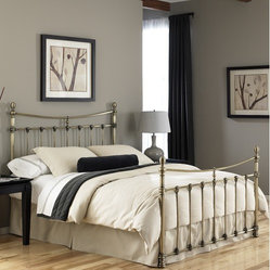 Leighton Metal Bed