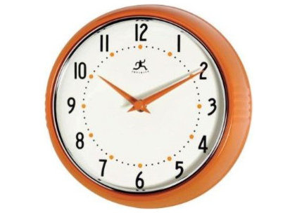 modern clocks by Amazon