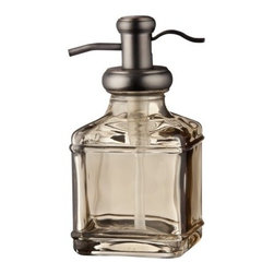 Threshold Short Antique Glass Soap Pump, Gray - This antique-style soap dispenser is another must-have in my book. I just enjoy adding little touches of luxury throughout a home.