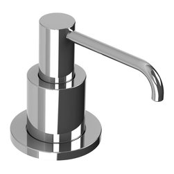 Lefroy Brooks - Soap Dispenser,  Polished Chrome - Known as the Rolls Royce of plumbing fixtures, Lefroy Brooks collections historically reference design aesthetics from turn of the century classics to today's minimalism. For over 25 years, Lefroy Brooks is known as the most recognized luxury-plumbing brand among the world's wealthiest consumers.