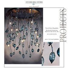 Eclectic Chandeliers by Studio Bel Vetro