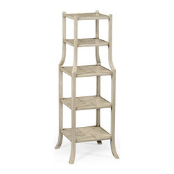 Jonathan Charles - New Jonathan Charles Shelf Gray Painted Wood - Product Details