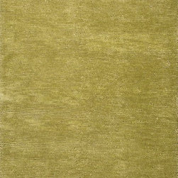 Jaipur - Solid/Striped Touchpoint 5'x8' Rectangle Lime Green-Lime Green Area Rug - The Touchpoint area rug Collection offers an affordable assortment of Solid/Striped stylings. Touchpoint features a blend of natural Lime Green-Lime Green color. Handmade of Felted Wool the Touchpoint Collection is an intriguing compliment to any decor.
