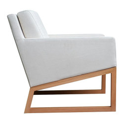 """Nova Wood Armchair by sohoConcept - Nova is a simply designed contemporary occasional chair with a comfortable upholstered seat and backrest. The seat has a steel structure with """"S"""" shape springs for extra flexibility and strength. This steel frame is moulded by injecting polyurethane foam. Nova chair has a back cushion for extra comfort. This occasional chair is offered in chrome and wood base. Nova chair can be ordered in several of other material and color options as a special order with no minimum quantity required. Nova is a perfect design solution for both residential and commercial use. - See more at: http://www.cressina.com/nova-wood-armchair-by-sohoconcept.html#sthash.UCt5lTlI.dpuf"""