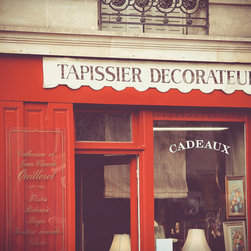 Interior Decorator, Fine Art Photography Print, 8X12 - Taken April 2012, Paris, France