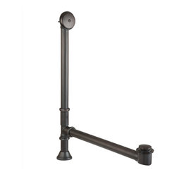 Premier Copper Products - Waste/Overflow Kit w/ Pop Up Drain for Free Standing Bathtub/Oil-Rubbed Bronze - BRAND: Premier Copper Products