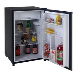 Avanti - Avanti Black Counterhigh 4.5 Cubic Foot Refrigerator - FEATURES