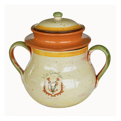 Ceramic Tuscan Bean Pot
