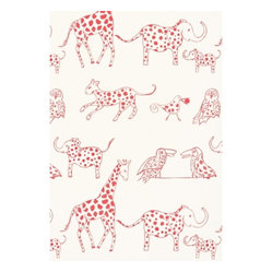 Jungle Jubilee Fabric, Punch