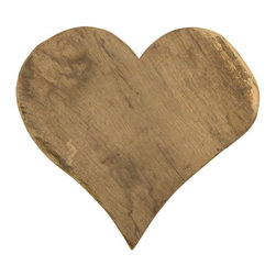 Vintage Heart Cutting Board - Don't cut my heart out! This vintage heart cutting board makes it more enticing to be in the kitchen. It is just the perfect touch for the heart of your home.