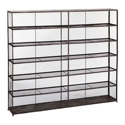 Industrial Iron Bookshelf| Shelves & Bookcases - One can never have too much storage. With this set of shelves, you'll never have to worry about not having enough!