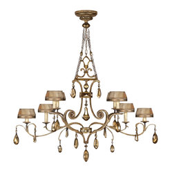 Golden Aura Chandelier, 755440ST