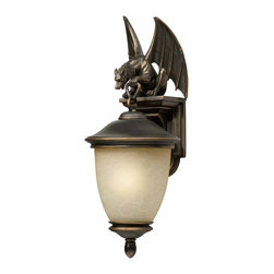 Triarch International - Triarch 75251-14 Gargoyle Oil Rubbed Bronze Outdoor Wall Sconce - Triarch 75251-14 Gargoyle Oil Rubbed Bronze Outdoor Wall Sconce