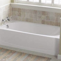 STERLING PLUMBING - Sterling Vikrell Left Hand Tub White Performa - Features: